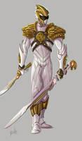 White Ranger color by Fpeniche