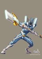 Blue Ranger by Fpeniche