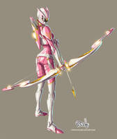 Pink Ranger by Fpeniche