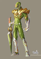 Green ranger Color by Fpeniche