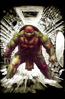 TMNT Raphael Poster by Fpeniche