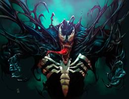 Venom rage by Fpeniche