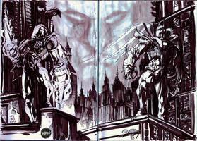 Azrael Batman Knightfall by Fpeniche