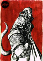 Hellboy Red by Fpeniche