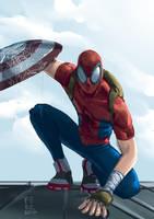 Spider civil War by Fpeniche
