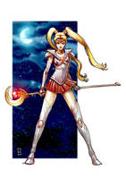 Sailor Moon redesign by Fpeniche