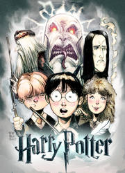 Harry Potter by Fpeniche