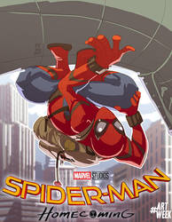 spiderman homecoming by Fpeniche