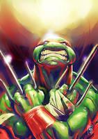 Raphael paint sketch by Fpeniche