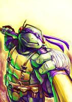 Donatello paint sketch by Fpeniche