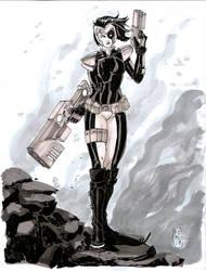 Domino Commission by Fpeniche