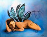 Sleeping Fairy by tracyleigh54