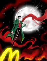 Vampire Barnabas Collins by favius