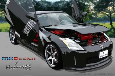 Nissan 350Z By ED + KN by Karaldinho
