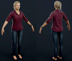 Uncharted 4 - Elena Home by luxox005
