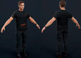 Uncharted 4 - Crazy Rafe by luxox005