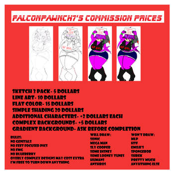 FP7 Comms 2017 *OPEN* by Falconpawnch7
