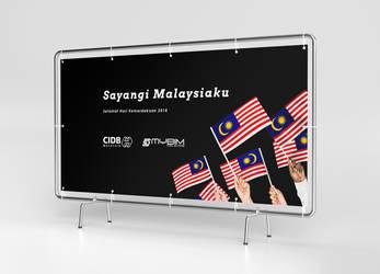 Banner - Merdeka: Sayangi Malaysiaku by alfadhilakmal