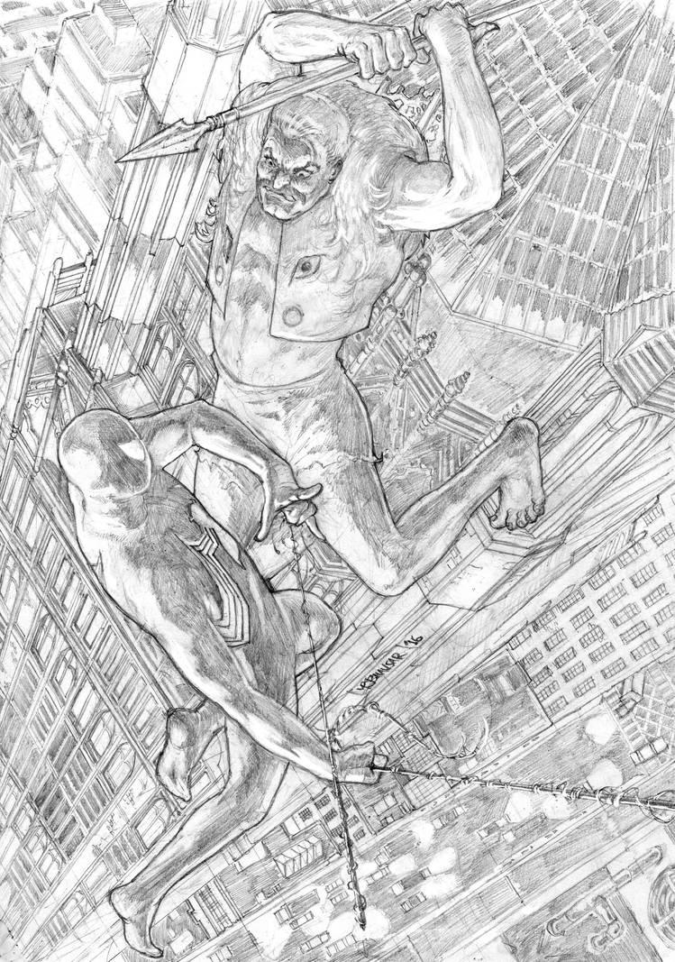 Spider-man: Fearful Symmetry by StudioCombine