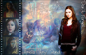 Amy Pond Dont Forget by feel-inspired