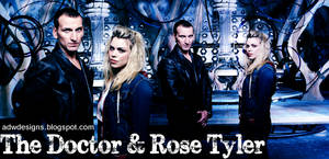 The Doctor and Rose Tyler Blend by feel-inspired