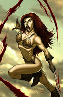 Red Sonja by lummage
