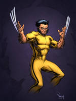 Game of Death Wolvie by lummage