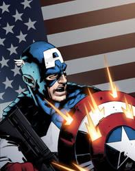 Captain America by lummage