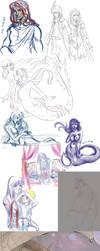 Art dump by Lady-Lillika
