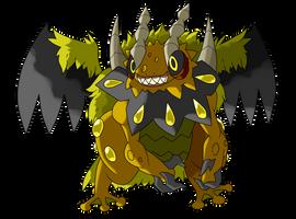 The 7 Sins Legendary Pokemon: Mavarise by ChrisJ-Alejo