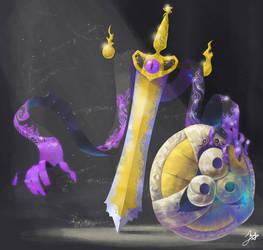 The Royal Sword Pokemon by ChrisJ-Alejo