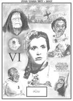 30 Years: Six - Leia by RichardBurgess