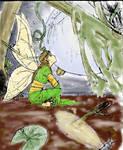 Swamp Maiden Colored by heavendweller