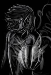 Negative Sketch by Alnix