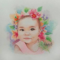 A PRECIOUS LITTLE ANGEL  by DeviantMarx