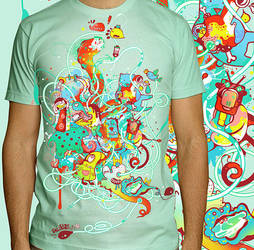 squeeze  tee by saltyshadow