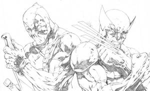 Deadpool and Wolverine by BeniaminoBradi