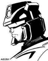 Jazz Head Sketch by AJSabino