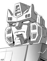 TF: Tracks Head Sketch by AJSabino