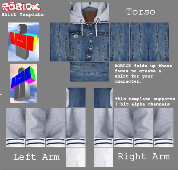 Roblox Jean Jacket Hoodie By Pencapoutfiters On Deviantart