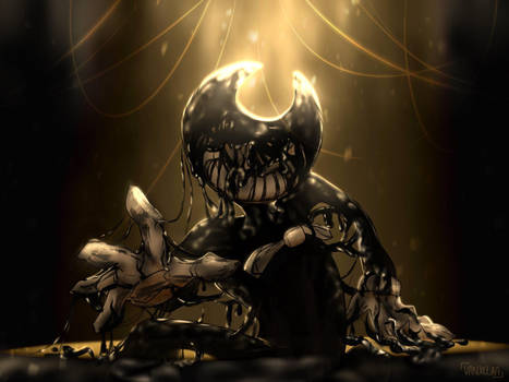 Bendy The Ink Demon by VanxllaVixen