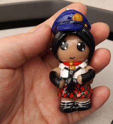 Marie (Persona 4 Golden) Chibi Keychain/Ornament by ShadyDarkGirl