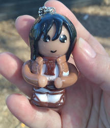 Attack on Titan Mikasa Charm/Ornament by ShadyDarkGirl