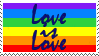 Love is Love Stamp by Cyberknife