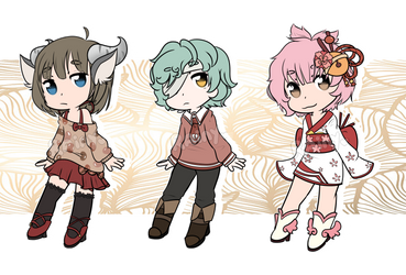 Adoptable Batch 2 [OPEN] by InvaderMas