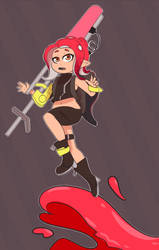 Agent 8. by InvaderMas