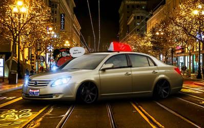 Toyota Avalon Touring Pizza Thot car by Stickman8463