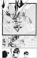 BATMAN and Robin inks by timothygreenII