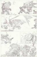 Batman VS Clay face 02 by timothygreenII