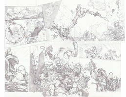 Red Hood and the Outlaws 13 pg 6, 7 by timothygreenII